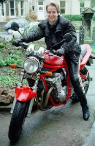 Sara on Karen's bike (Spring 2000) (509x784)